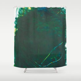 Exuberant Acrylic Shower Curtain