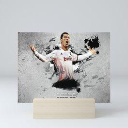 𝓒𝓻𝓲𝓼𝓽𝓲𝓪𝓷𝓸 - Ronaldo - 𝓡𝓸𝓷𝓪𝓵𝓭𝓸 Cristiano - Dos Santos Aveiro - Futbol - Soccer - 7y6 Mini Art Print