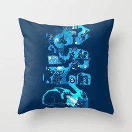 Dungeon Crawlers Throw Pillow