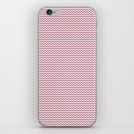 Chevron Rose iPhone Skin