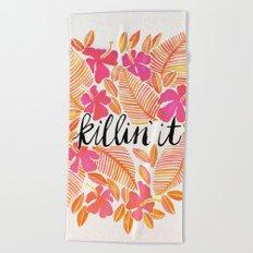Killin' It – Melon Ombré Beach Towel