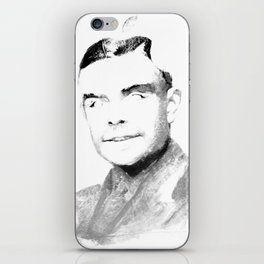 Turing Apple iPhone Skin