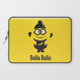 Bello Singh Punjabi (Balle Balle) Minion Inspired Parody Laptop Sleeve