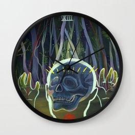 Death XIII Wall Clock