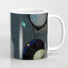 Vintage Map of The Solar System (1887) Coffee Mug