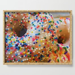 Sprinkles and Donuts Serving Tray
