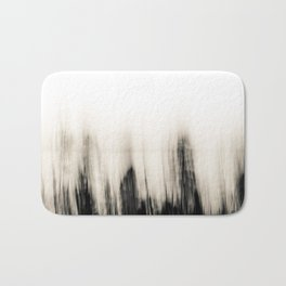 Trees By the Sea Abstract Bath Mat