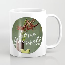 Lilies and melon, floral flowers still-life photography Coffee Mug