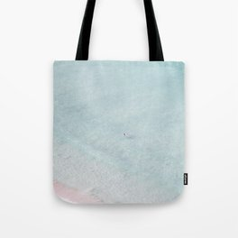 beach - the swimmer Tote Bag