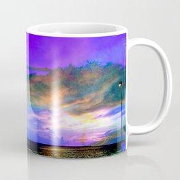 super color sunset at Anclote Pier Coffee Mug