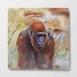 SmartMix Gorilla 1220 Metal Print