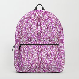 Floral abstract background G25 Backpack