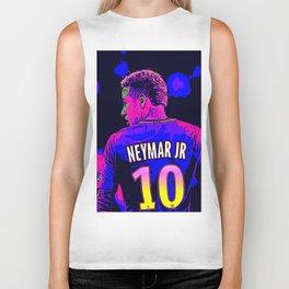 Neon Neymar Biker Tank
