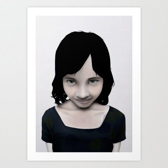Little Secrets Art Print