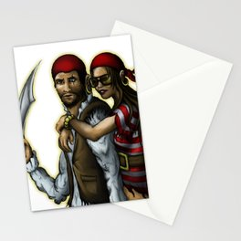 Klepto and Hoops Stationery Cards