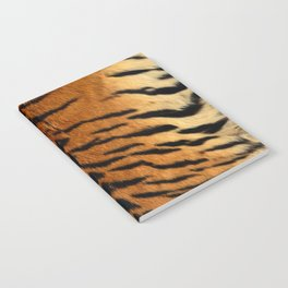 Faux Siberian Tiger Skin Design Notebook
