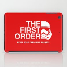 Never Stop Exploding Planets iPad Case