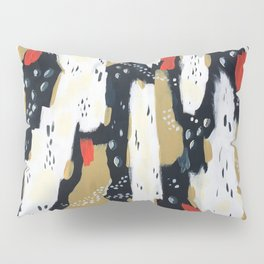 Spotted Abstract in Neutral Pillow Sham
