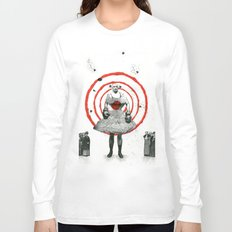 Woman with stones Long Sleeve T-shirt