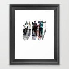 GROUP// Framed Art Print