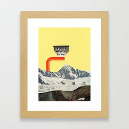 A Good Morning To You Framed Art Print