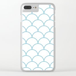 Nautical Seamless Collection 32 Clear iPhone Case
