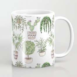 Watercolor . Plants . Coffee Mug
