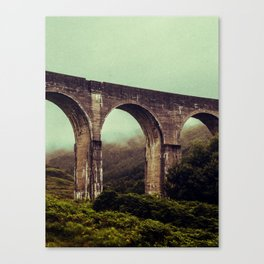 SCOTLAND / Glenfinnan (Viaduct), Highlands / 01 Canvas Print