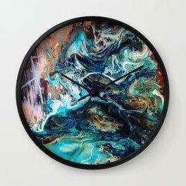 Cosmic river Wall Clock