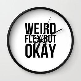 Weird flex but okay Meme Wall Clock