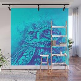 owl portrait 5 wsdb Wall Mural