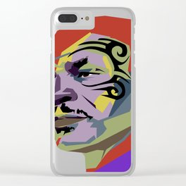 Mike Tyson Clear iPhone Case