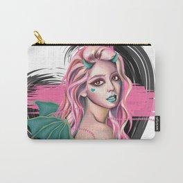 Pastel Devil - Stylized digital portrait Carry-All Pouch
