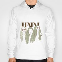 haim Hoodies featuring HAIM by chazstity