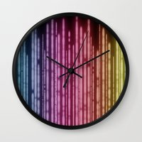 lights Wall Clocks featuring Lights by Jason Michael