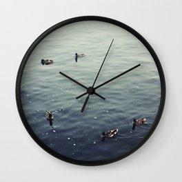 Untitled (Lake Michigan) Wall Clock