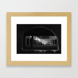 Private Viewing Framed Art Print