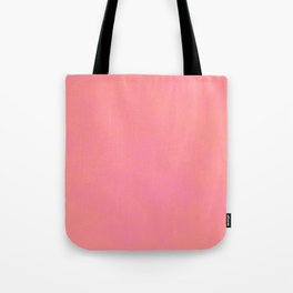 pink coral red color trend plain texture Tote Bag