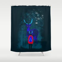 backpack Shower Curtains featuring Repatriation by Rendra Sy