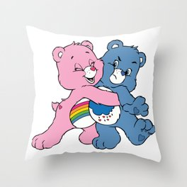 Care Bears  Throw Pillow