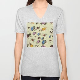 insect word  Unisex V-Neck