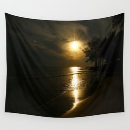 A Beautiful Evening Wall Tapestry