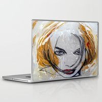 blondie Laptop & iPad Skins featuring Blondie by Capracotta Art