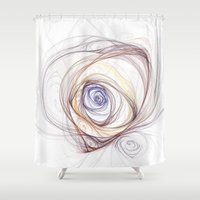 whimsical Shower Curtains featuring Whimsical by made by nini