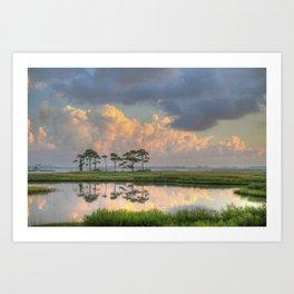 Morning Clouds  Art Print