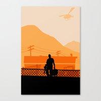 grand theft auto Canvas Prints featuring Grand Theft Auto: Trevor by mcsjackson
