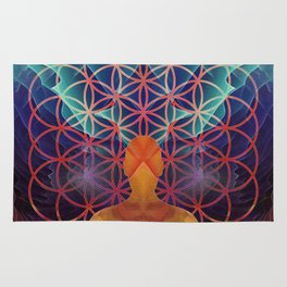 Flower Of Life (The Journey) Rug