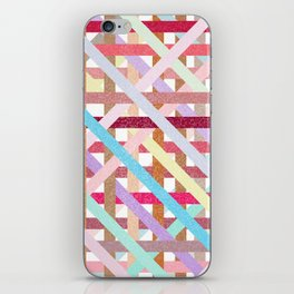 Structural Weaving Lines iPhone Skin