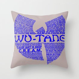 CREAM Throw Pillow