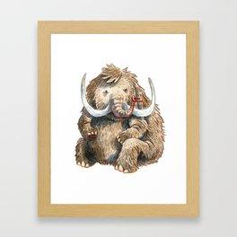Mammoth Framed Art Print